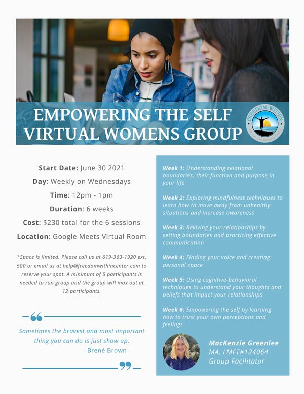 Empowering-the-Self-Group-Flyer